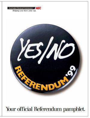 The official 1999 referendum pamphlet