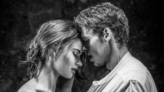 Lily James and Richard Madden in Kenneth Branagh's Romeo and Juliet.