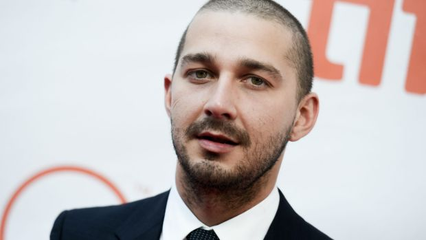"Shia LaBeouf told Variety: ""I gotta earn my way back."""