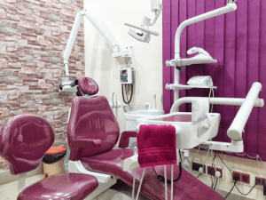 smile line dentist chair