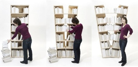 Platzhalter Expanding Bookshelf