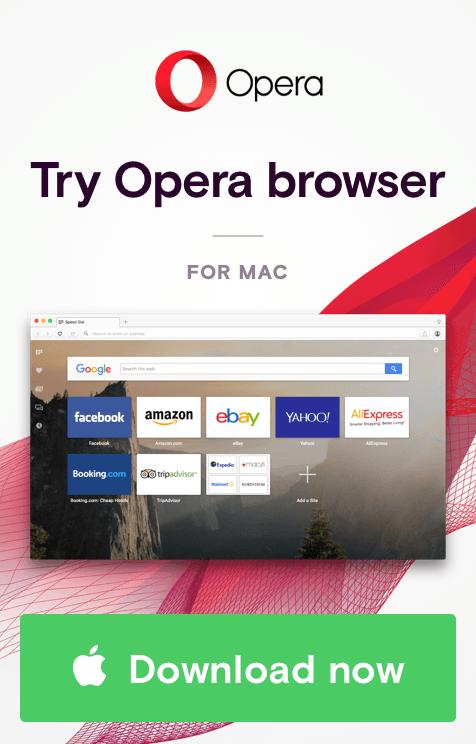 Opera banner ad design