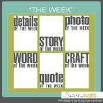 Free printables: Word of the week