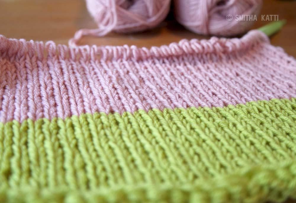 Baby blanket tutorial photo