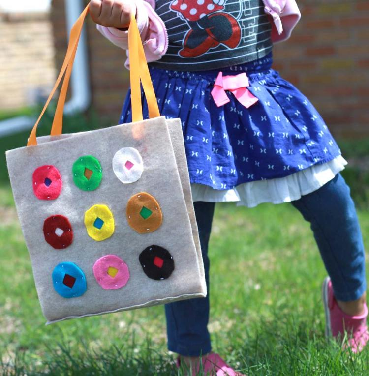 DIY Summer Craft Projects Kids tote