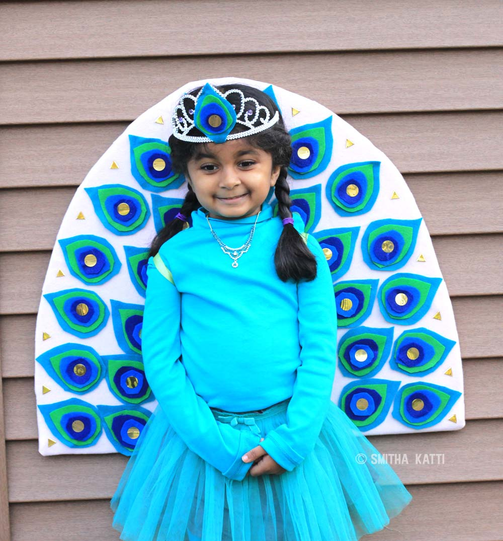diy peacock costume video tutorial