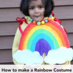 How to make a Rainbow costume: No sew Video