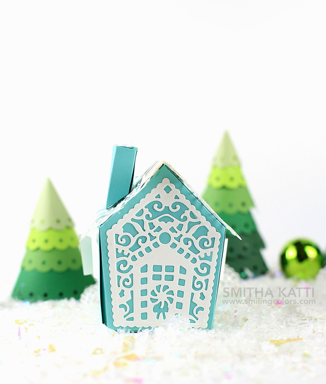 Whimsical Paper House