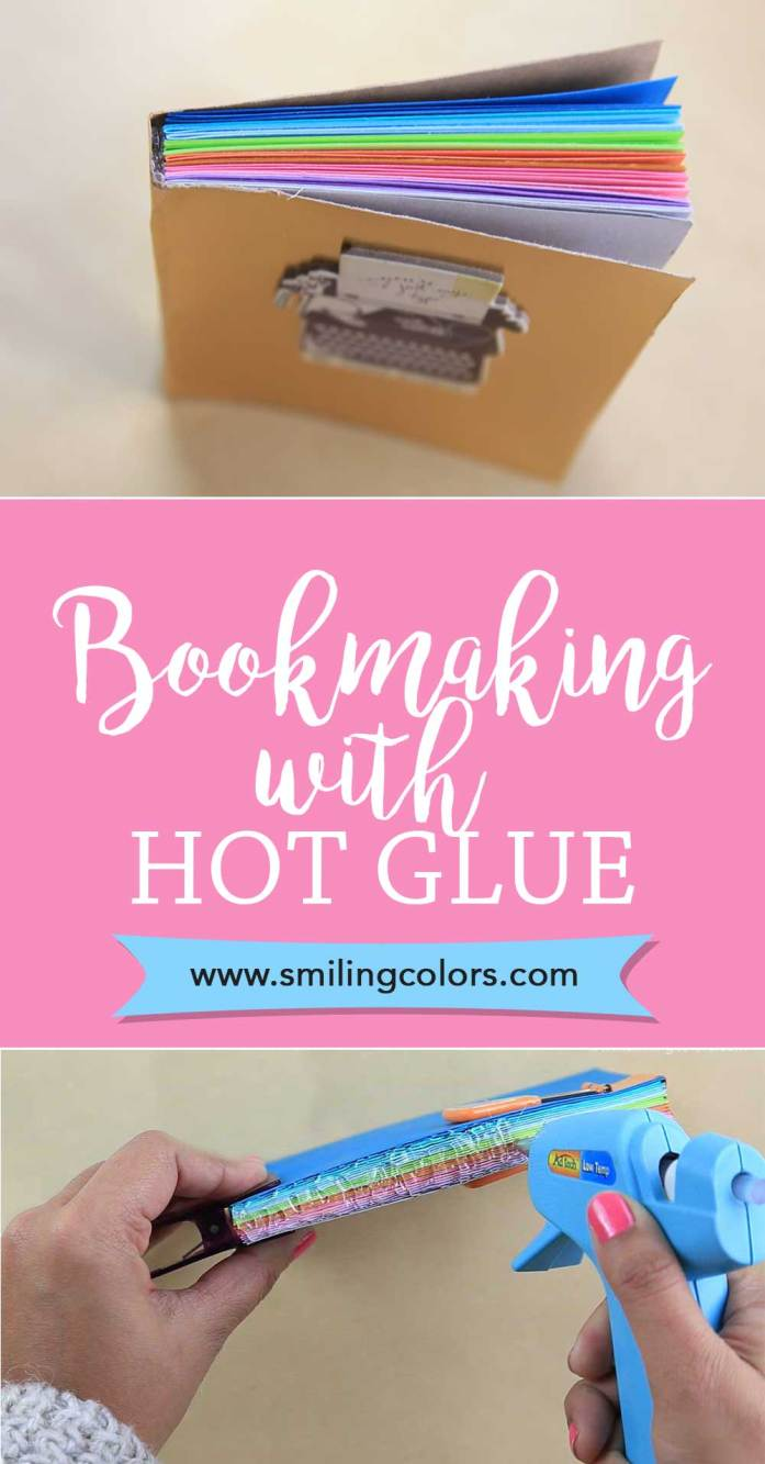 DIY Hot Glue Book Binding