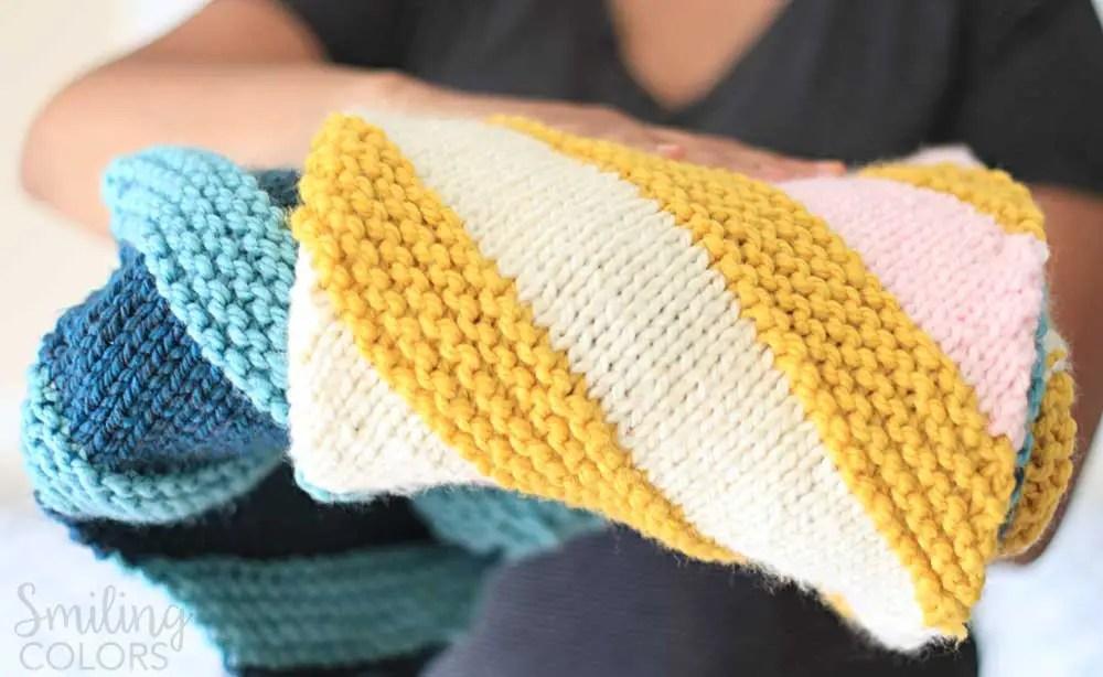 corner to corner baby blanket with FREE pattern
