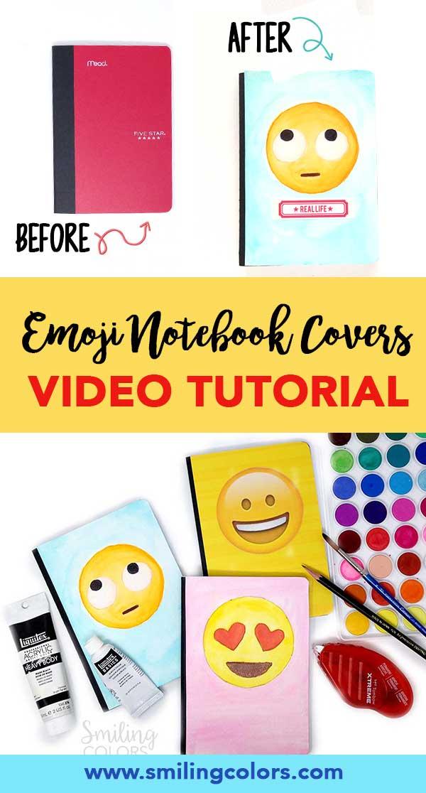 emoji notebook covers