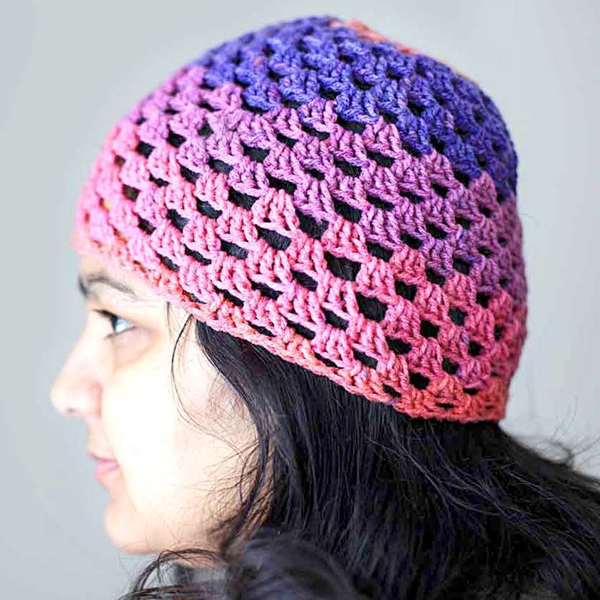 crochet-beanie-with-left-over-yarn-free-pattern