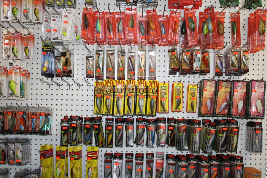 Assorted Lures to Choose