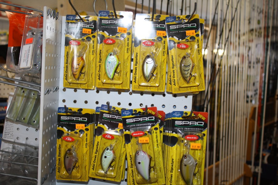 New Spro Fishing lures
