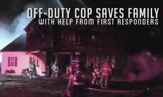 off-duty cop centereach house fire