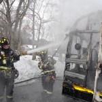 smithtown school bus fire