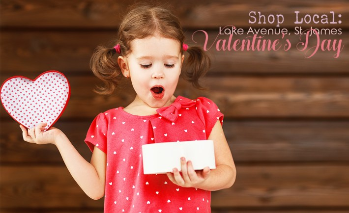 shop local valentine's day lake avenue, st. james