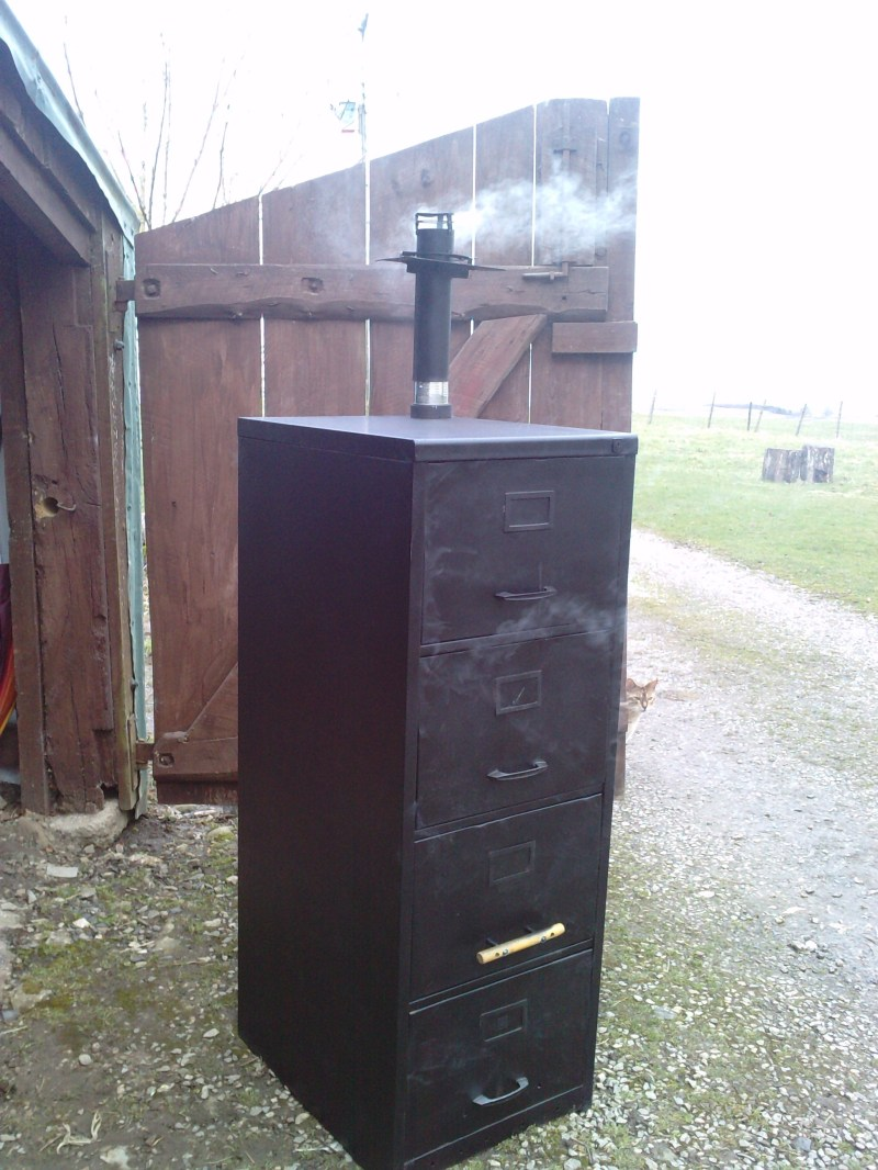 Large Of File Cabinet Smoker