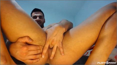 julian gabriel on his knees