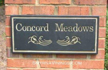 Concord Meadows homes