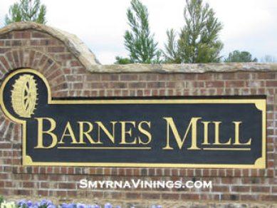 Covered Bridge at Barnes Mill - Smyrna Real Estate