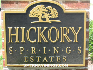 Hickory Springs Estates in Smyrna