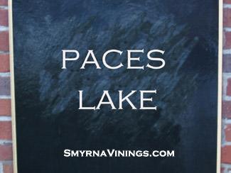 Paces Lake in Vinings