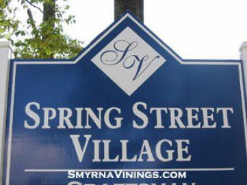 Spring Street Village in Smyrna