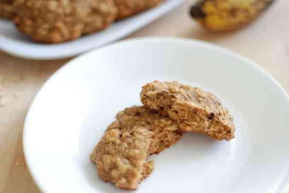 "Healthy Oatmeal Raisin Cookies {""Muffin Tops""}"
