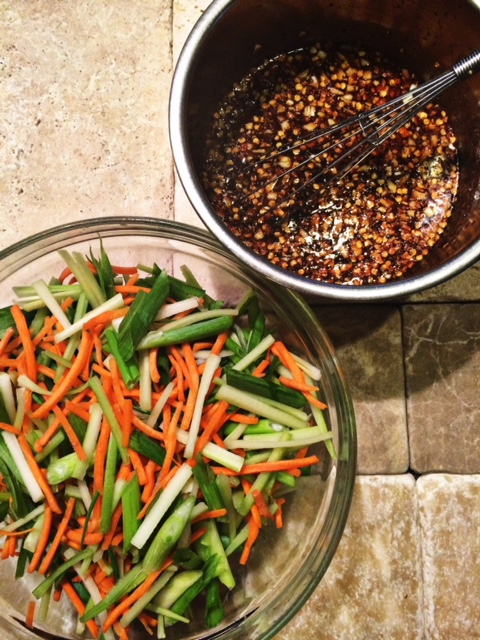 Szechuan Sauce Recipe that goes well with whatever protein or veggies you're making for dinner. Also makes a spicy dipping sauce for game day food like mozzarella sticks, dumplings, or pot stickers. #Asian #szechuan #recipe #recipes #sauce