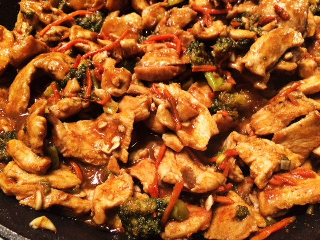Easy chinese style chicken and broccoli takeout sndwchs etc easy chinese style chicken and broccoli takeout forumfinder Gallery