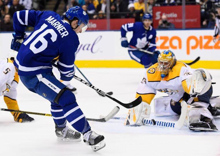 Predators vs Leafs