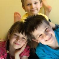 kids happy
