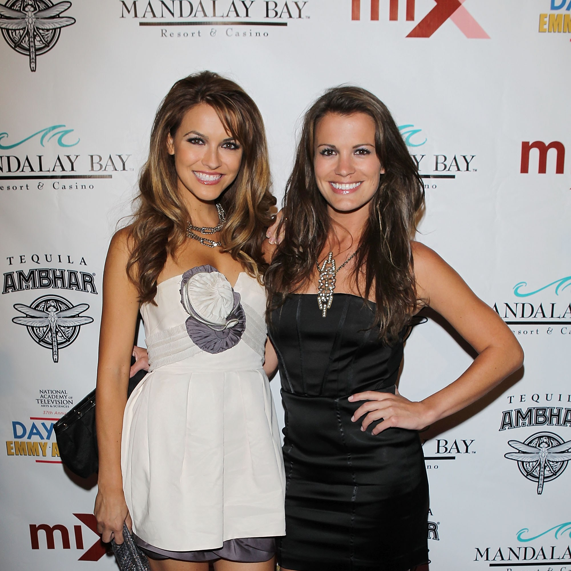 LAS VEGAS - JUNE 26:  Chrishell Stause (L) and Melissa Claire Egan arrive to the 2010 Daytime Emmy Awards Official Pre-Party held at miX Lounge - THEhotel at Mandalay Bay on June 26, 2010 in Las Vegas, Nevada.  (Photo by Michael Tran/FilmMagic)