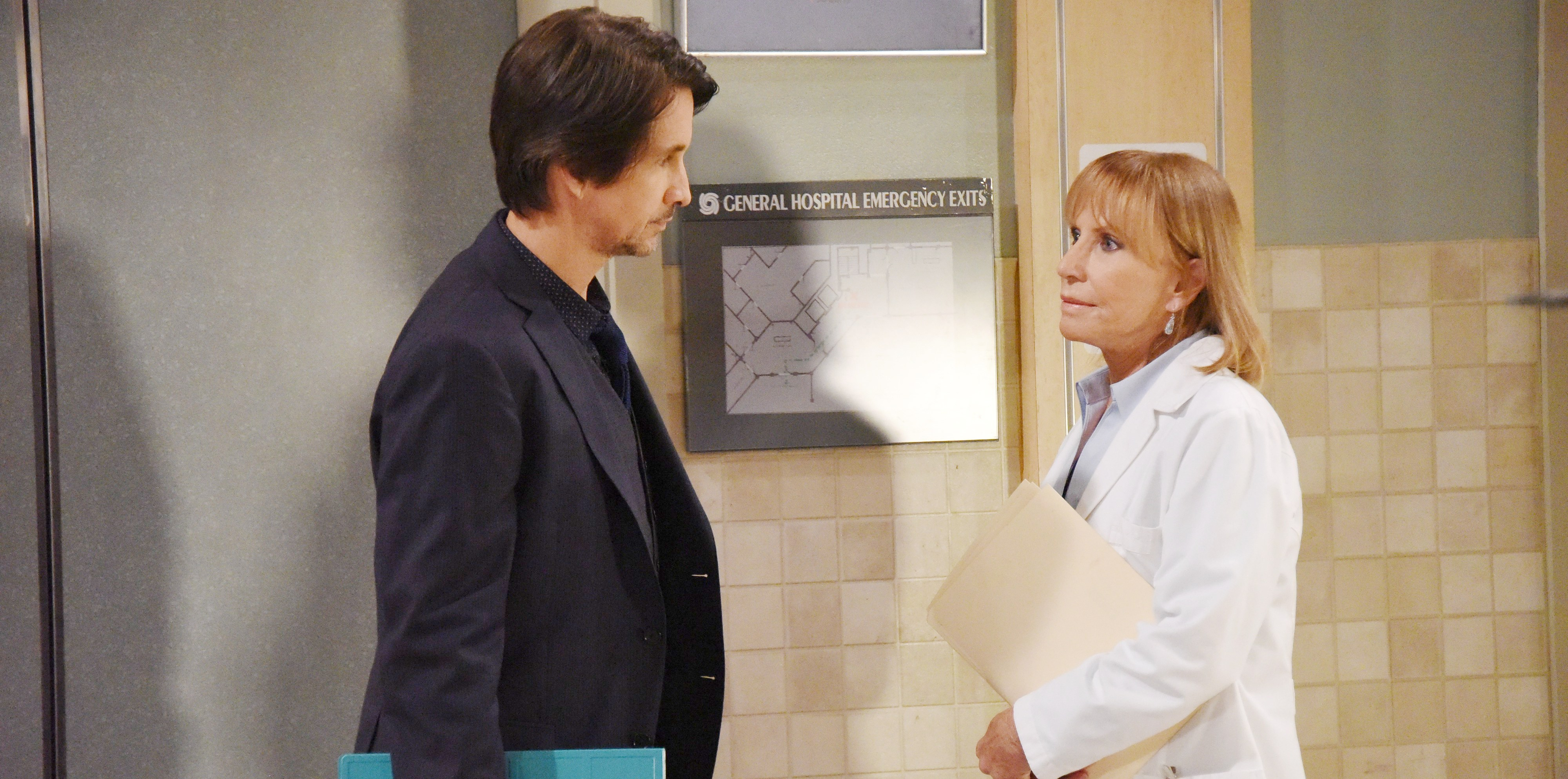 Leslie Charleson, Michael Easton