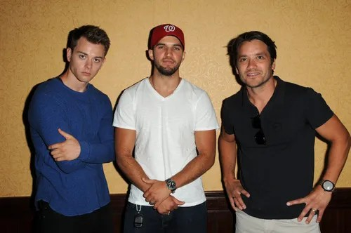 Bryan Craig, Chad Duell, Dominic Zamprogna GENERAL HOSPITAL Fan Club Weekend - Corinthos Brothers Event Embassy Suites Glendale Glendale, CA 7/31/16  © Jill Johnson/jpistudios.com 310-657-9661