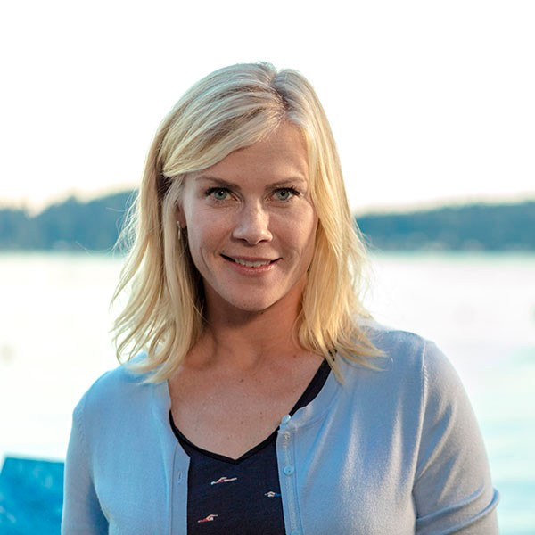 High-powered Manhattan attorney, Ellen Branford, is going to fulfill her grandmother's dying wish-to deliver a mysterious letter to a man who owns a blueberry farm. As Ellen sets out on her grandmother's mission, she unravels the mysterious love story her grandmother left behind.  Photo: Alison Sweeney  Credit: Copyright 2016 Crown Media United States LLC/Photographer: Ryan Plummer