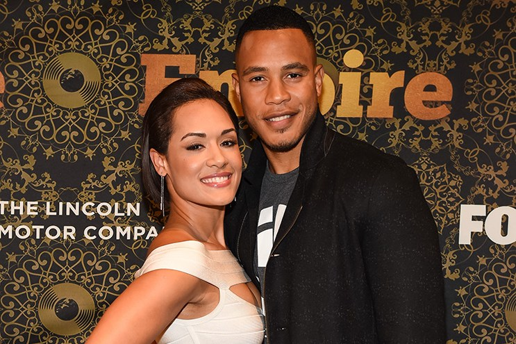 EMPIRE SEASON THREE PREMIERE PARTY:  Grace Gealey and Trai Byers arrives to the EMPIRE Season Three Premiere Event sponsored by Lincoln, at the Harris Theater at Millennium Park on Tuesday, September 20, 2016 in Chicago, Illinois. EMPIRE premieres Wednesday, September 21 (9:00-10:00 PM ET/PT) on FOX. © 2016 FOX BROADCASTING CR: Frank Micelotta/FOX.