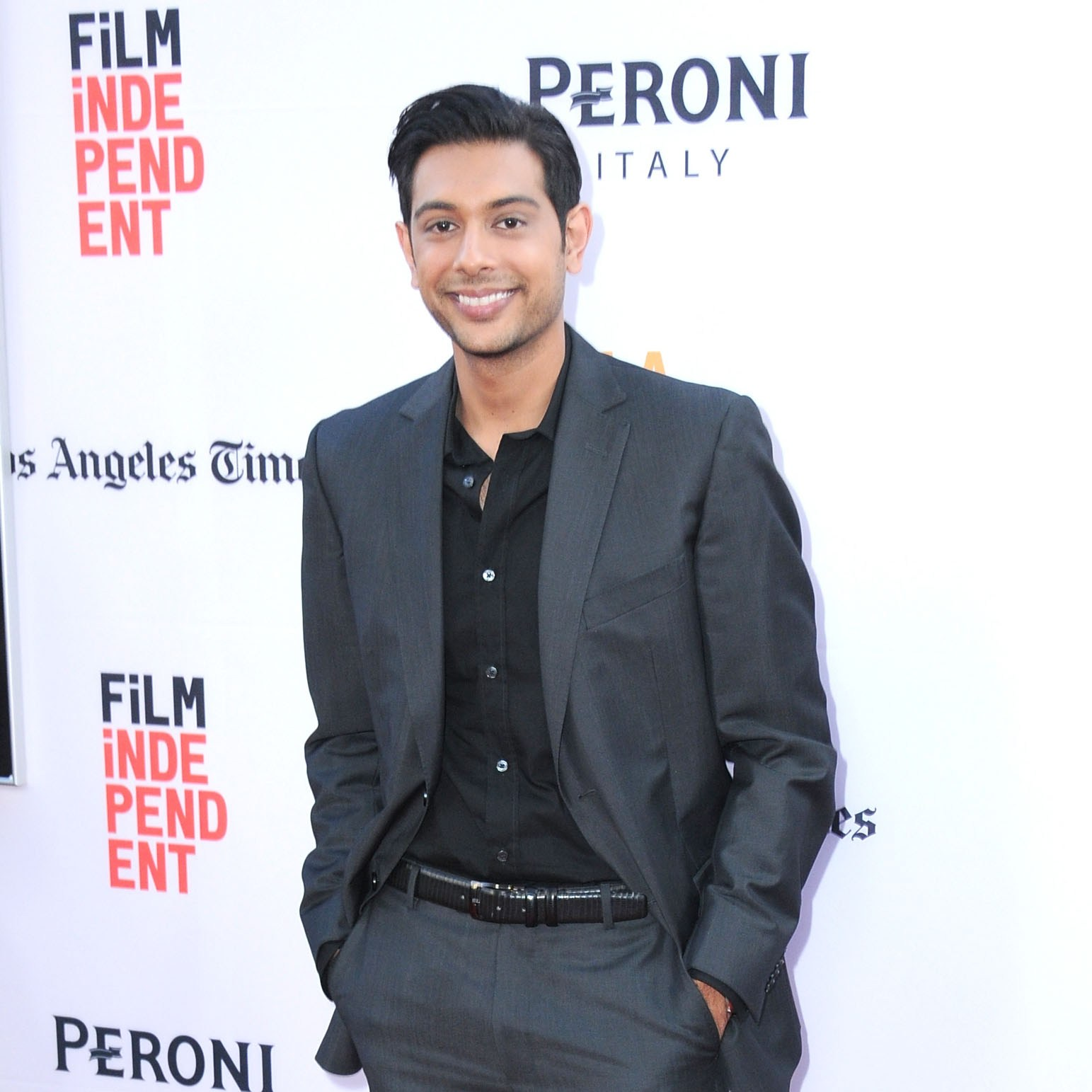 HOLLYWOOD, CA - JUNE 07:  Actor Abhi Sinha attends 2016 Los Angeles Film Festival 'The Conjuring 2' premiere at TCL Chinese Theatre IMAX on June 7, 2016 in Hollywood, California.  (Photo by Barry King/Getty Images)