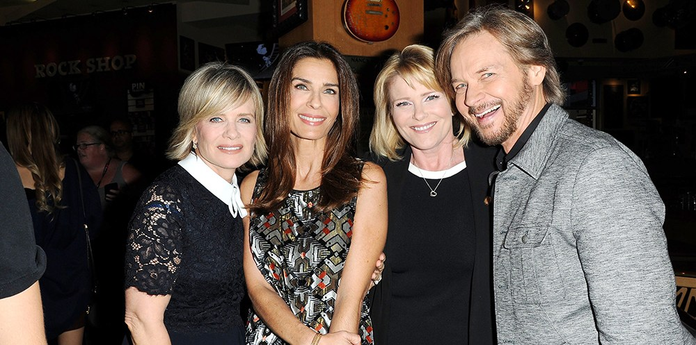 Mary Beth Evans, Kristian Alfonso, Judi Evans, Stephen Nichols 2016 DAY OF DAYS Event with the Cast of DAYS OF OUR LIVES Universal City Walk Universal City, CA 11/12/16  © Jill Johnson/jpistudios.com 310-657-9661