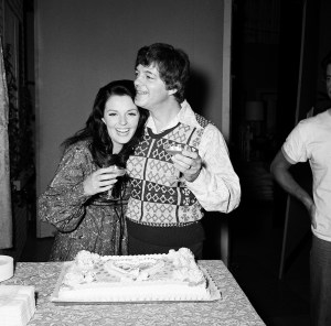 BILL HAYES & SUSAN SEAFORTH HAYES -- Pictured: (l-r) Susan Seaforth Hayes, Bill Hayes during their real-life wedding reception on October 14, 1974 -- (Photo by: Paul W. Bailey/NBC/NBCU Photo Bank via Getty Images)