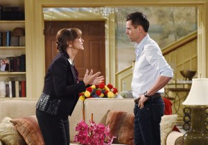 "Jason Thompson, Jess Walton ""The Young and the Restless"" Set CBS television City Los Angeles 08/05/16 © ChrisD/jpistudios.com 310-657-9661 Episode # 11007 U.S. Airdate 09/12/16"