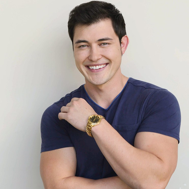 "Christopher Sean ""Days of our Lives"" Set NBC Studios Burbank 12/08/14 © Howard Wise/jpistudios.com 310-657-9661"