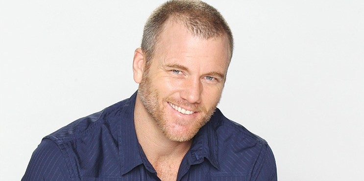 """Sean Carrigan """"The Young and the Restless"""" Set with Sean Carrigan CBS television City Los Angeles 08/05/14 © John Paschal/jpistudios.com 310-657-9661"""