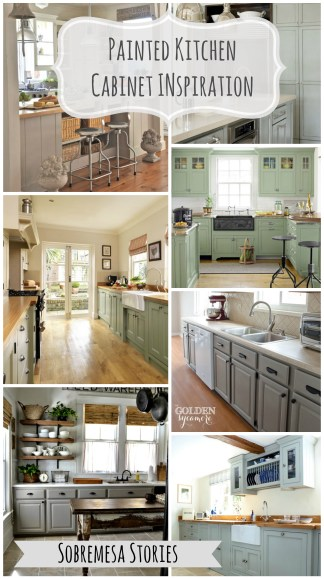 Painted Kitchen Cabinet Inspiration Sobremesa Stories