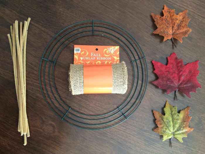 This rustic fall burlap bubble wreath is simple, beautiful, easy to make, and involves just a few materials.