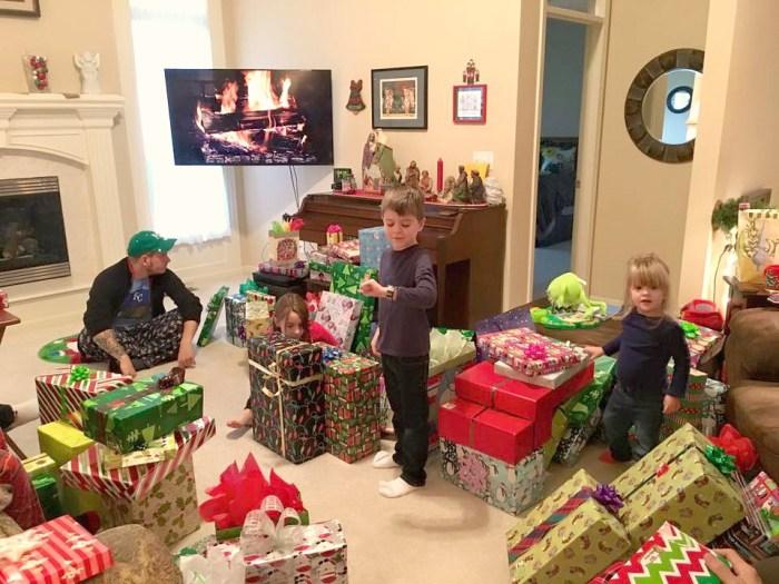 So. Many. Presents.