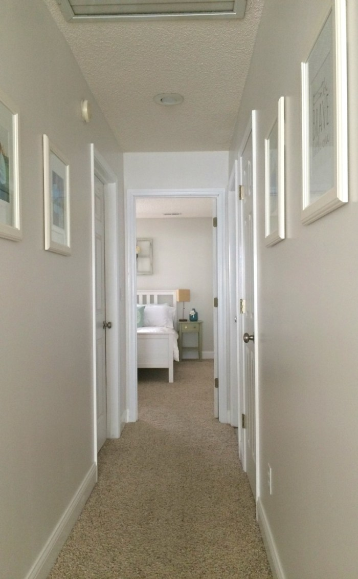 No more picture space look in the post under this one for the - Five Ways To Update And Brighten A Dark Hallway