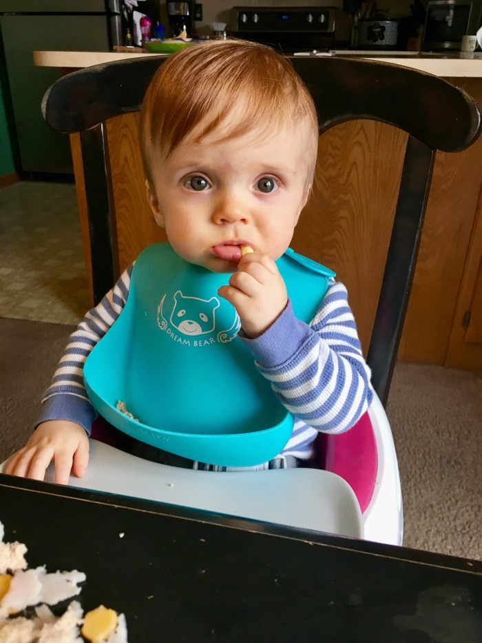 Caleb Eating 11 Month Update