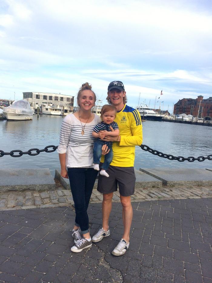 Boston Family In Harbor